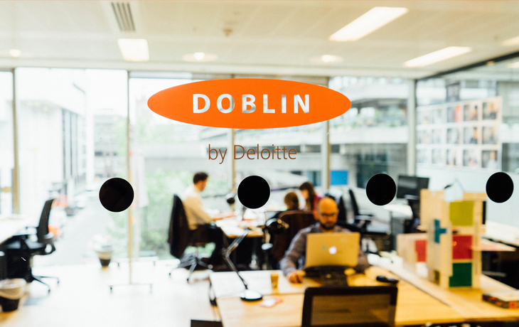 ​Doblin's New Digs in London